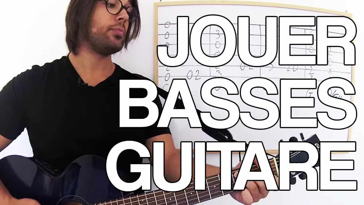 MOUVEMENT DE BASSE A LA GUITARE