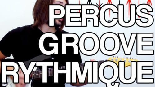 percus groove rythmique ghost-note rythme note morte guitare cours tuto leçon facile