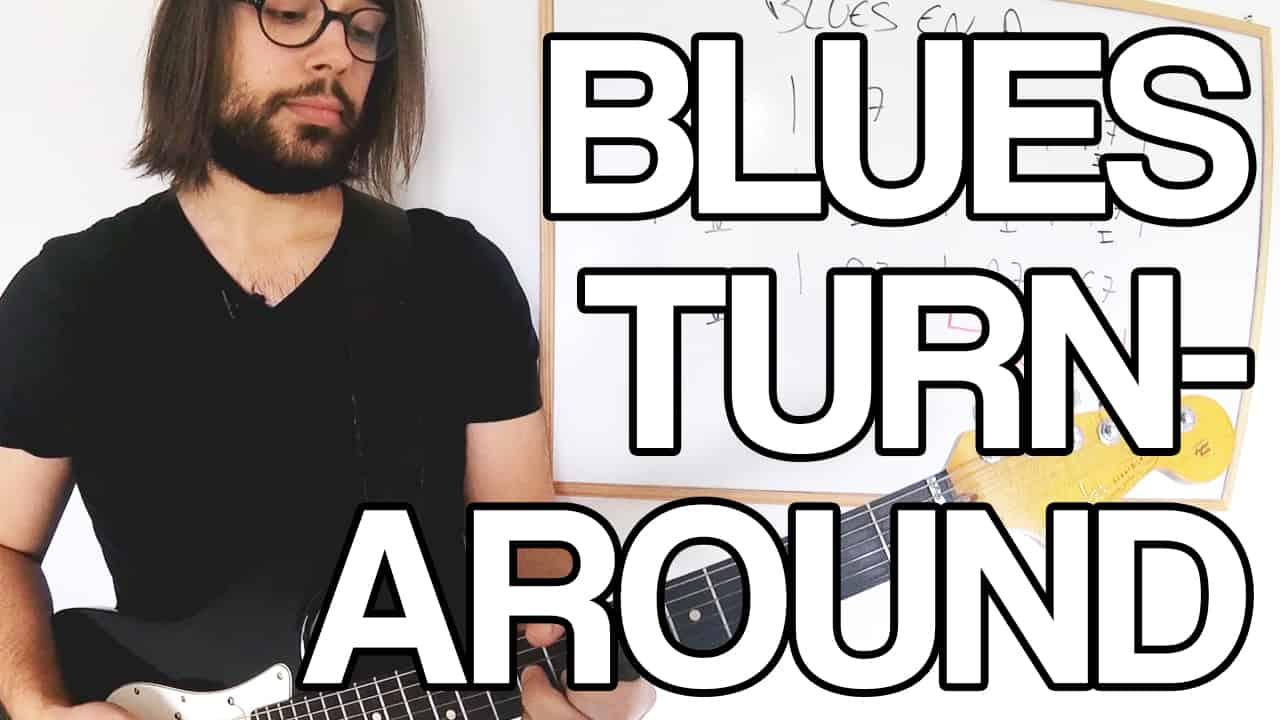 turnaround blues guitare apprendre jouer leçon cours tuto facile vidéo