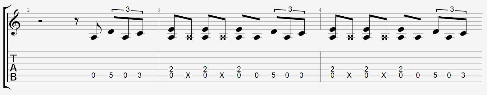 5 riffs de blues facile tab partition cours leçon tuto apprendre