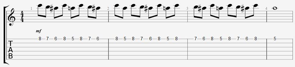 délier doigts guitare exercice facile coordination apprendre jouer leçon